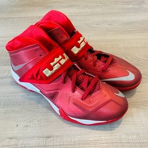 Nike Zoom Soldier TB Mid Top basketball shoes